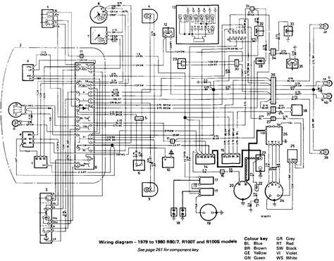 Bmw 1200 G Wiring Diagram by Electrical Problem R80 7