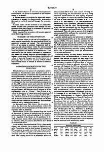 Patent US5292639 - Association of bovine mitochondrial DNA ...