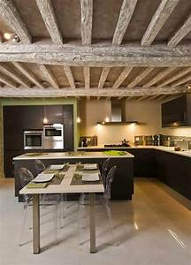 ilot central table cuisine amazing superior table de With superior exemple plan de maison 8 architecture lanzarote