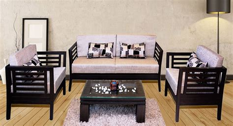 Sofa Set Made Of Wood by Get Modern Complete Home Interior With 20 Years Durability