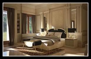 luxus schlafzimmer classic interior design
