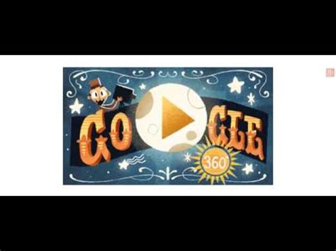 george melies google video celebrating georges m 233 li 232 s google doodle youtube