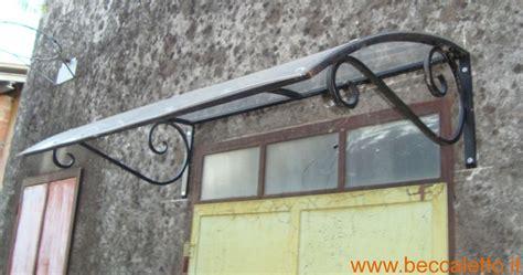 tettoie ferro battuto pensiline e tettoie in ferro battuto