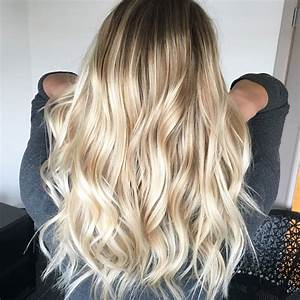 Balayage Blond Grau : 1000 ideas about trendy hair colors on pinterest hair trends 2016 long to short hair and ~ Frokenaadalensverden.com Haus und Dekorationen