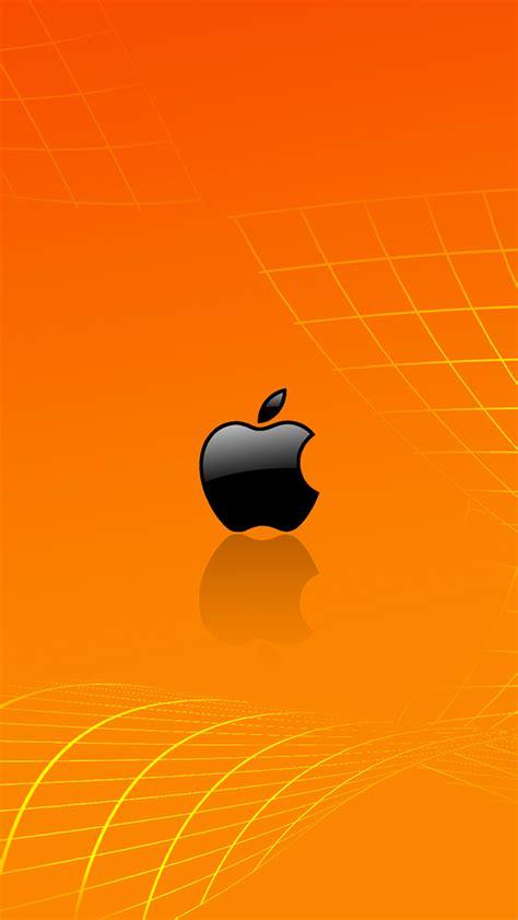 orange apple wallpaper  iphone