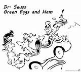 Ham Eggs Seuss Coloring Dr Goat Printable Could Sheets Template Sketch Getdrawings Bettercoloring sketch template