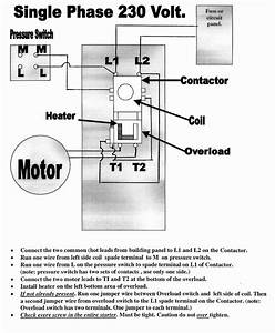 240v Motor Wiring Diagram Single Phase