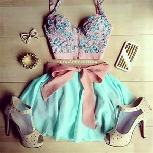 Cute Summer Outfits Tumblr with bustier tops | tumblr ...