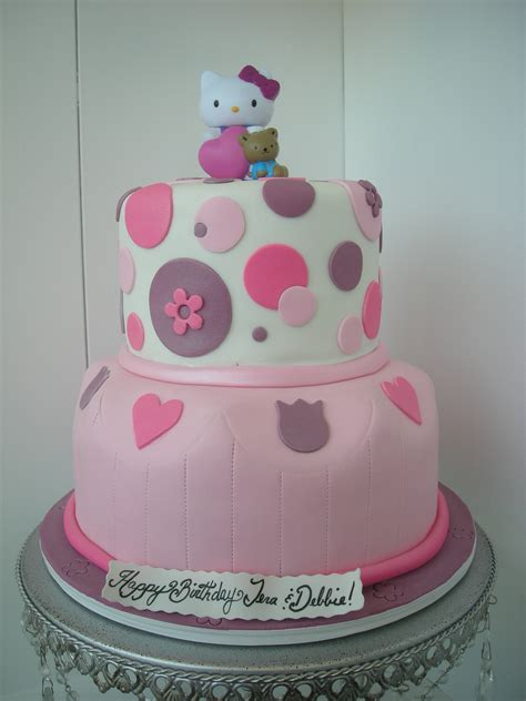 design a cake fondant hello kitty cake a sweet design s