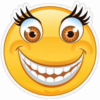 Emoji Smile Eyes Crazy Wide Sticker Stickers