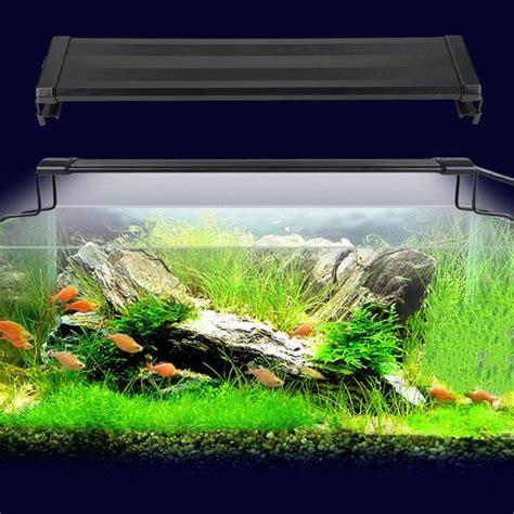led aquarium fish tank fishbowl light waterproof led light bar submersible underwater smd