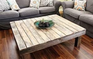Plan De Table Palette : table basse palette en 55 id es inspirantes ~ Dode.kayakingforconservation.com Idées de Décoration