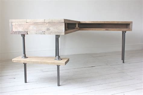meuble bureau metal bureau en palette de bois mzaol com