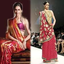 Traditional Saree Draping Styles - style drapers traditional styles of saree draping