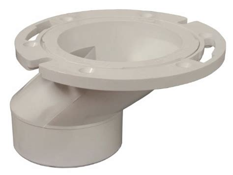 Plumbest C54402 3inch By 4inch Pvc Offset Closet Flange