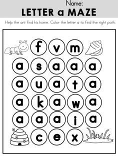 letter  activities images alphabet activities