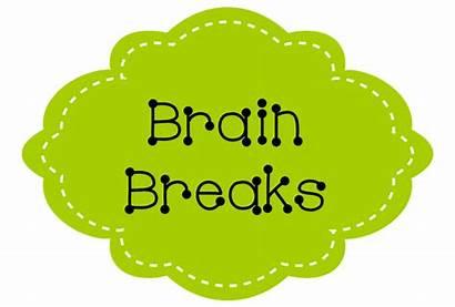 Break Brain Clipart Breaks Minute Clip Printable