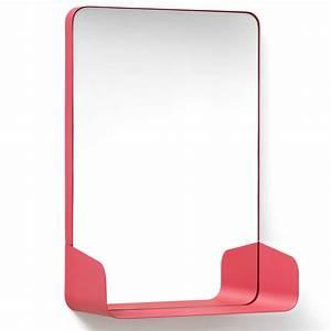 Badspiegel Mit Ablage : authentics shelf spiegel mit ablage 42 8 x 30 5cm rot ~ Eleganceandgraceweddings.com Haus und Dekorationen