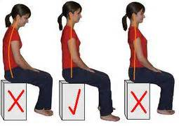 chair sit ups bad posture vs bad posture and exercises to improve posture