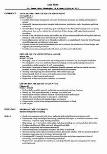 fantastic private equity resumes contemporary example With private resume writer