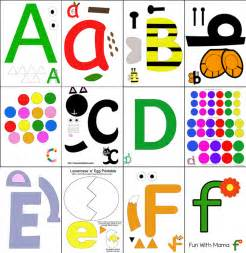printable alphabet letter crafts with