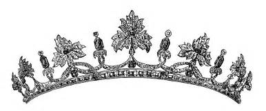vintage clip royal tiara image the graphics