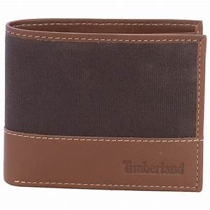 Timberland Baseline Canvas Wallet - Save 40%
