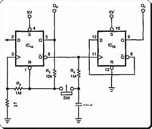latch debouncer switch circuit diagram expert circuits With circuit on off latch circuit