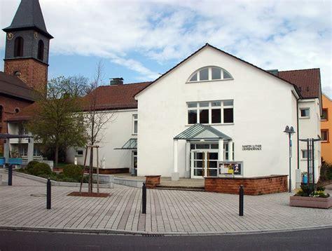 Martinluther Gemeindehaus  Evangelische Kirchengemeinde