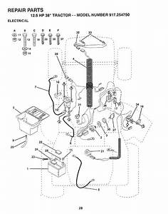 Craftsman 917254750 User Manual Lawn  Tractor Manuals And