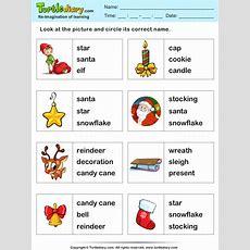 Christmas Vocabulary Words Worksheet  Turtle Diary