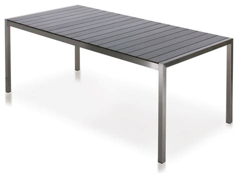 harbour outdoor soho laminate dining table modern