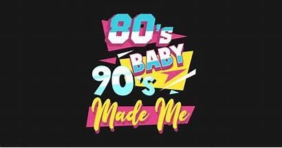 80s 90s Teepublic Retro Sticker 1980s 1990s