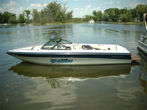 Used Boats For Sale In Southeast Michigan by 1997 Malibu Sunsetter Lx For Sale In Brighton Michigan