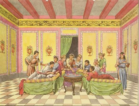 petit 騅ier cuisine repas des romains