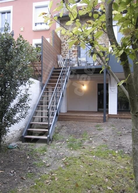 photo dt108 esca droit 174 escalier droit ext 233 rieur design