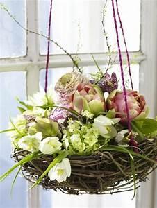 Frühlingsdekoration Ideen Fürs Fenster : liebevolle dekoideen f r den fr hling ~ Orissabook.com Haus und Dekorationen