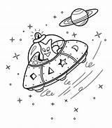 Alien Coloring Pages Ufo Activities Aliens Printable Spacecraft Kid 4kids Sheets Children Activity Space Via Books sketch template