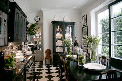 black  white tile sunroom inspiration thefancypantsonline