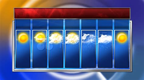 weather forecast template stock hd 7 day weather forecast 396809 pond5