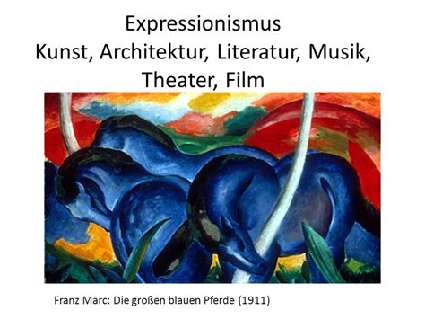 expressionismus kunst merkmale expressionismus merkmale kunst expressionismus merkmale