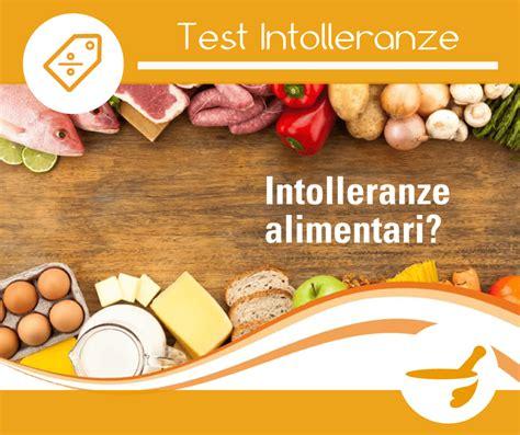 Test Intolleranze Alimentari by Test Intolleranze Alimentari Farmacia Sacro Cuore
