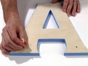 how to install sign letters with studs hang custom signs With stud mounted letters