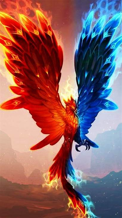 Phoenix Fire Mythical Ashes Creatures Quotes Dark