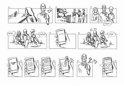 App Mobile Ux Storyboards Storyboard Tips Thinking