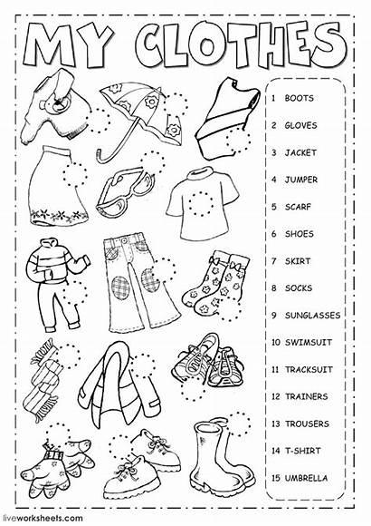 Worksheet Clothes Worksheets Esl English Language Link