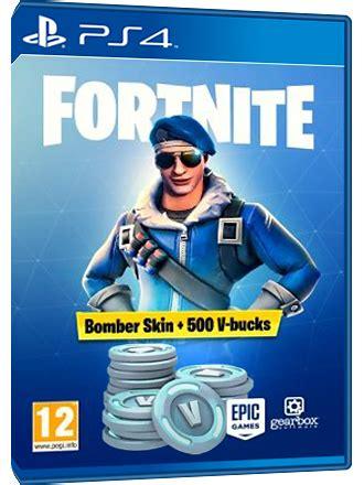 fortnite bomber skin   bucks ps code eu mmoga
