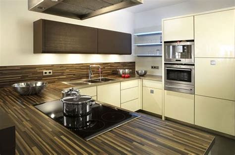 contemporary kitchen countertop material  modern theme enthusiasts amaza design