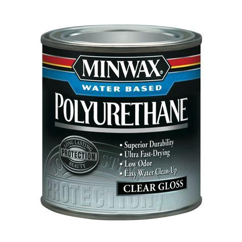 Minwax Water Based Polyurethane, 8 Oz  Gloss Tools