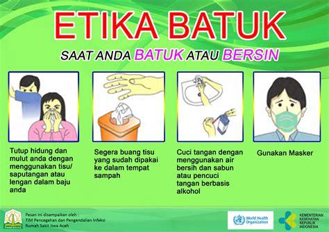 rumah sakit jiwa aceh etika batuk